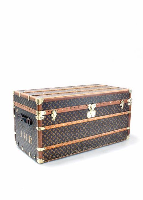 Louis Vuitton travel trunk 1920