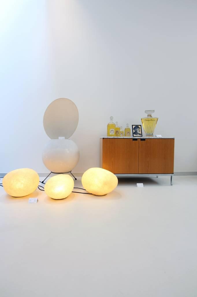 """Vintage steen vloerlampen """"Dorra"""" by André Cazenave 1969"""