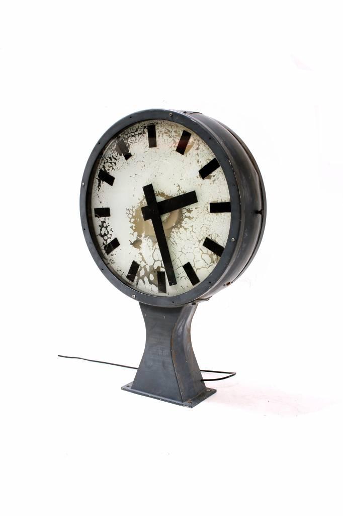 Originele oude grote station klok