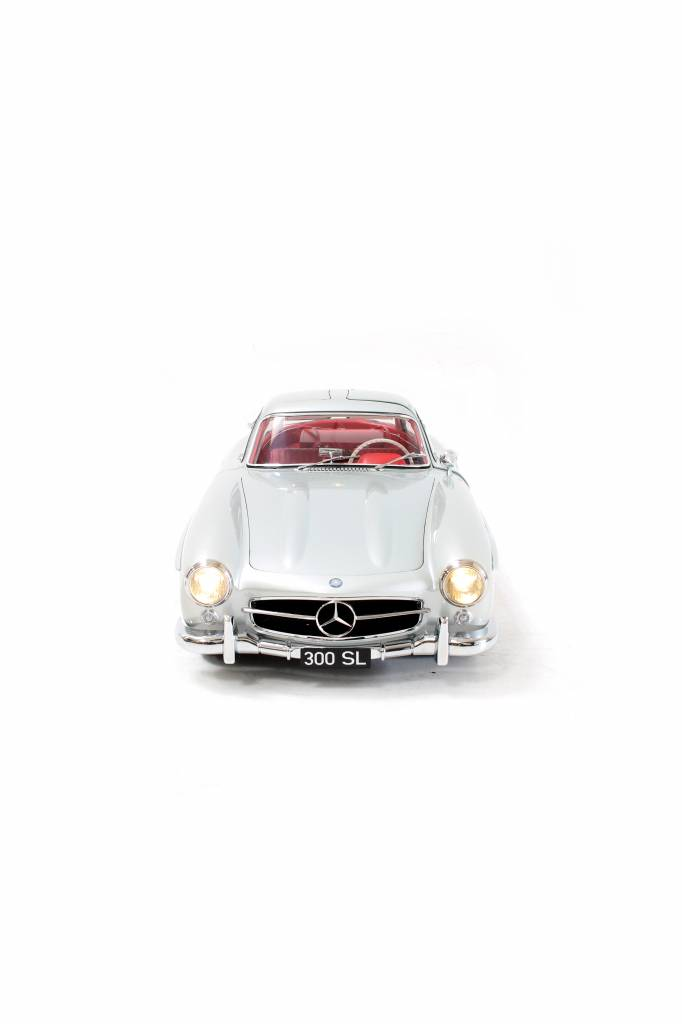 Rare scale model of the 300 SL GULLWING 1955 SCALE 1: 8