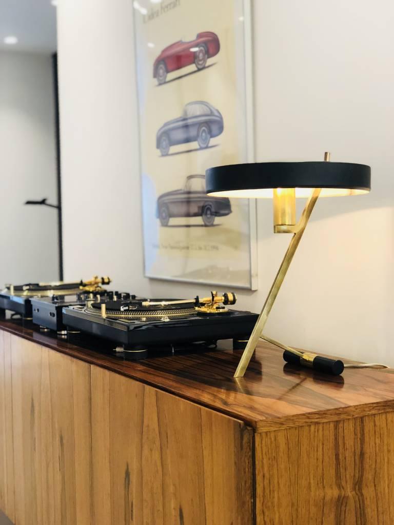PHILIPS OFFICE LAMP 1955 DESIGN LOUIS CHRISTIAAN KALFF FOR PHILIPS BELGIUM
