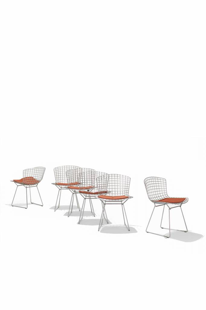 Bertoia chairs for Knoll