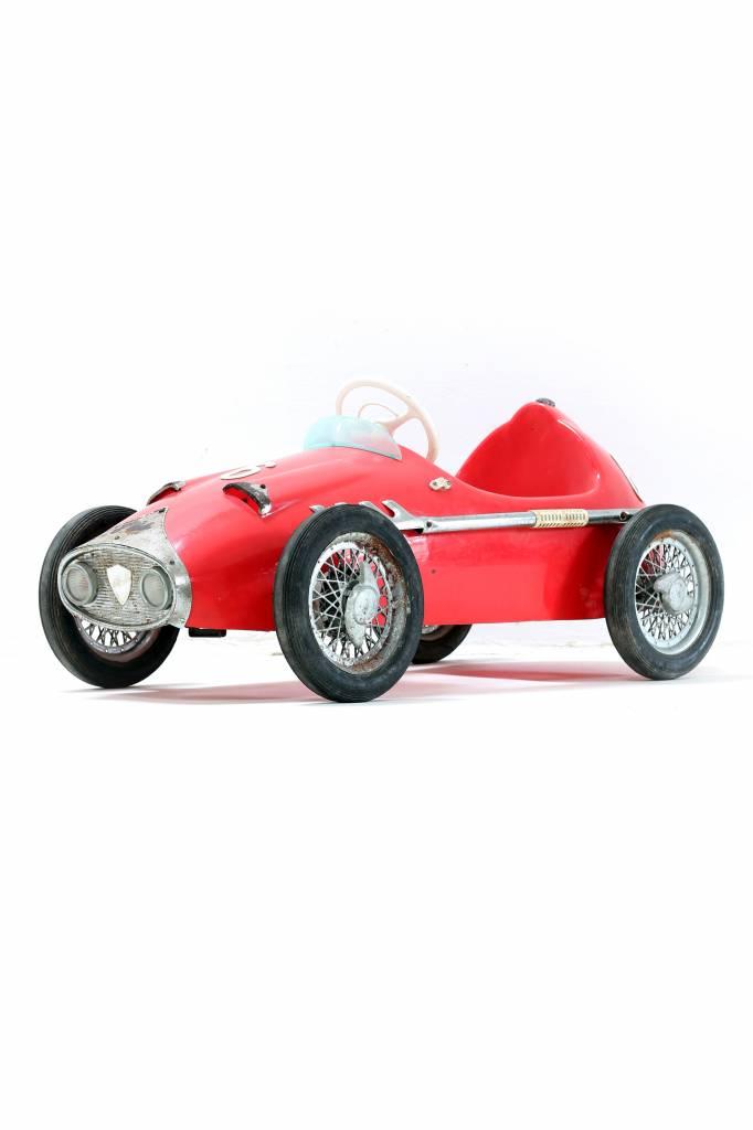Vintage Ferrari pedal car 1964