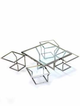 Coffee table Belgo Chrom