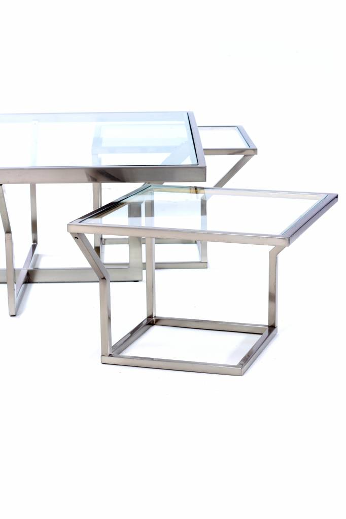 Vintage coffee table Belgo Chrom