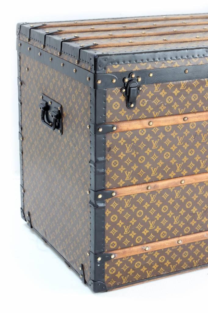 Louis Vuitton koffer geschilderd monogram XXL