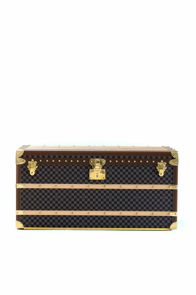 Grote koffer Louis Vuitton Damier