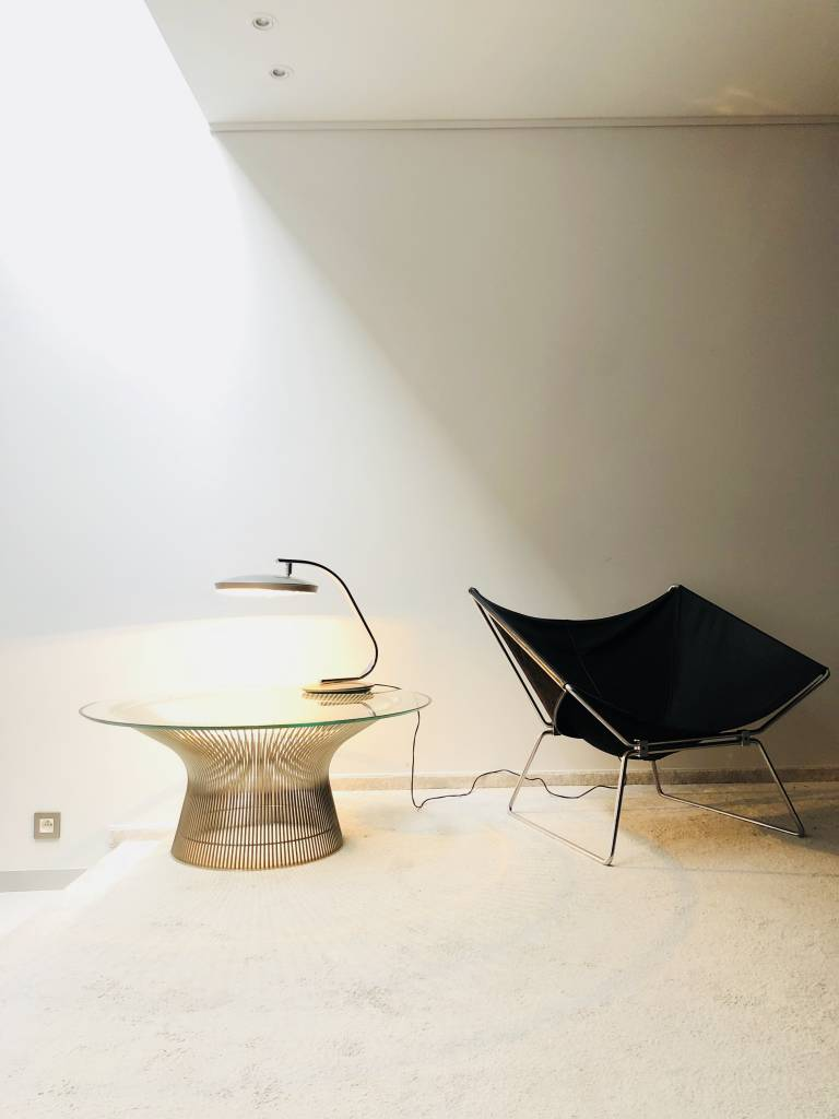 Originele vintage Knoll Warren Platner salontafel