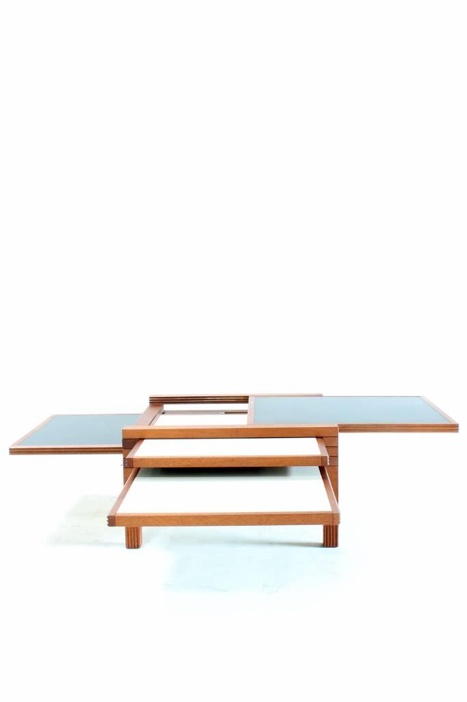 vintage coffee table Bernard Vuarnesson 1979