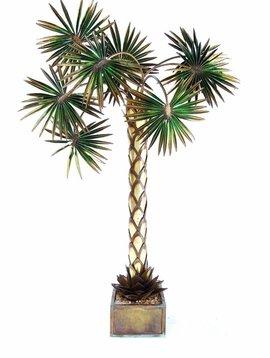 Palmboomlamp Maison Jansen