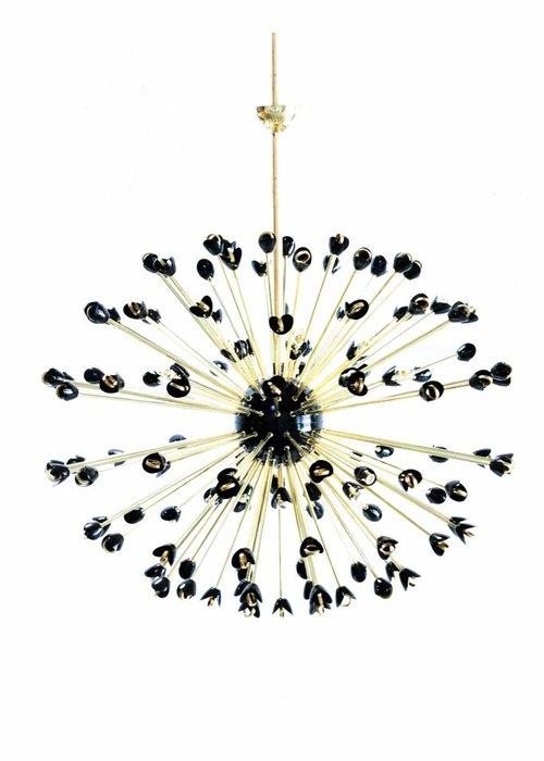 XXL brass chandelier