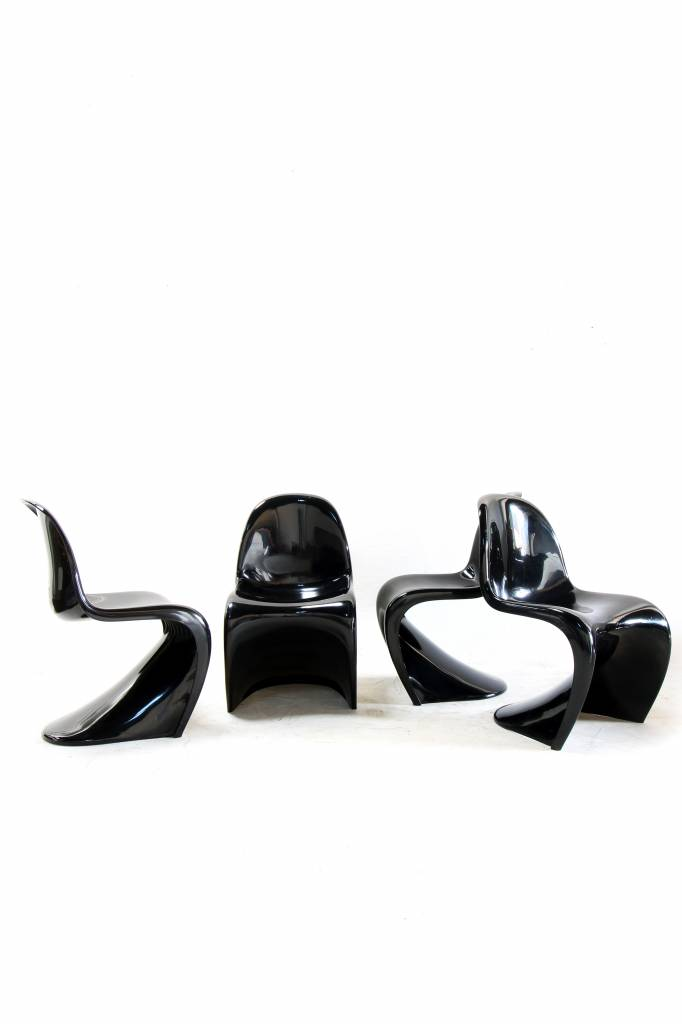 Original first productions of the panton chairs