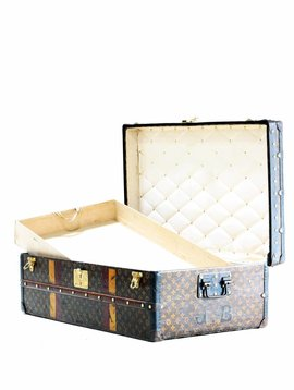 Vintage Louis Vuitton suitcase