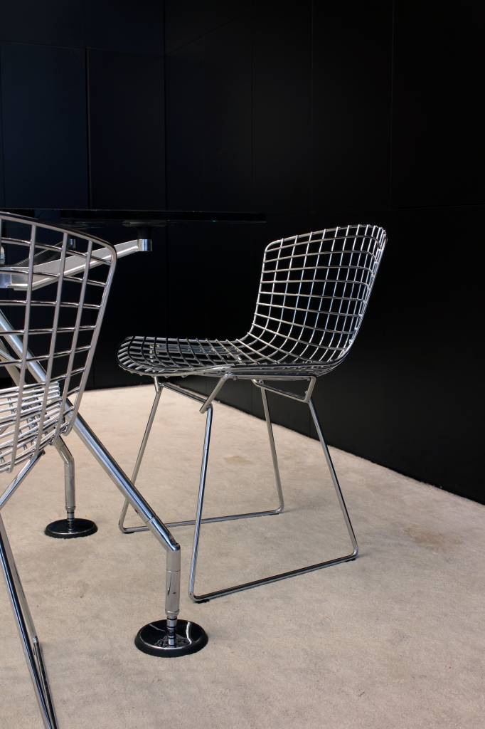 Harry Bertoia Knoll stoelen chrome