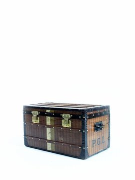 "Louis Vuitton ""rayée"" Trunk, 1876"