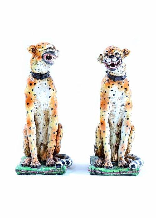 Antieke luipaarden 19TH CENTURY
