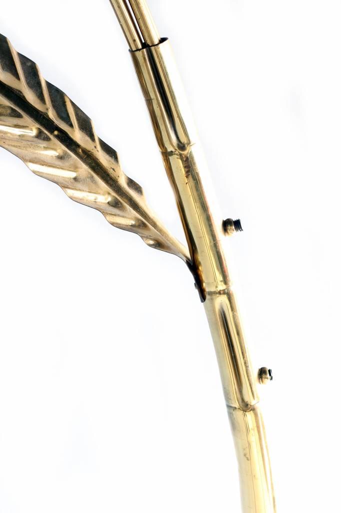 Vintage bamboe booglamp