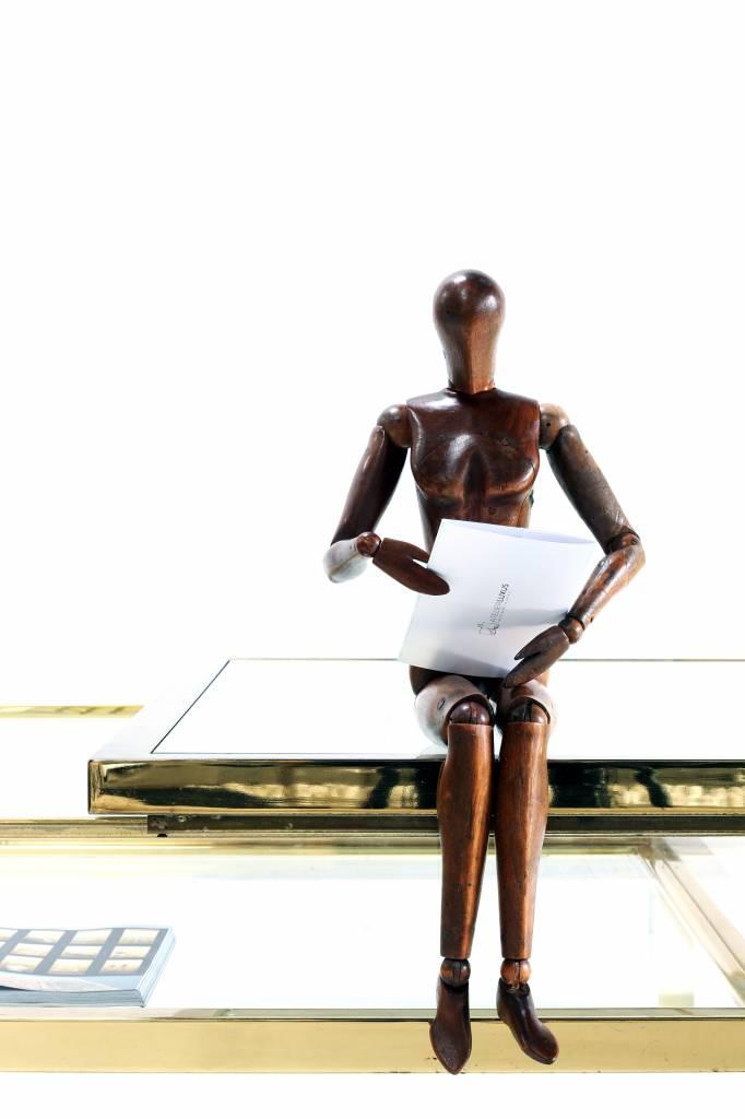"Antique artist model ""lay figure"""