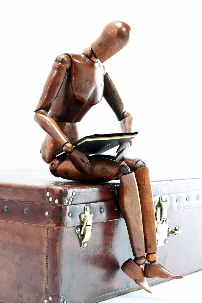 Antiek artist model