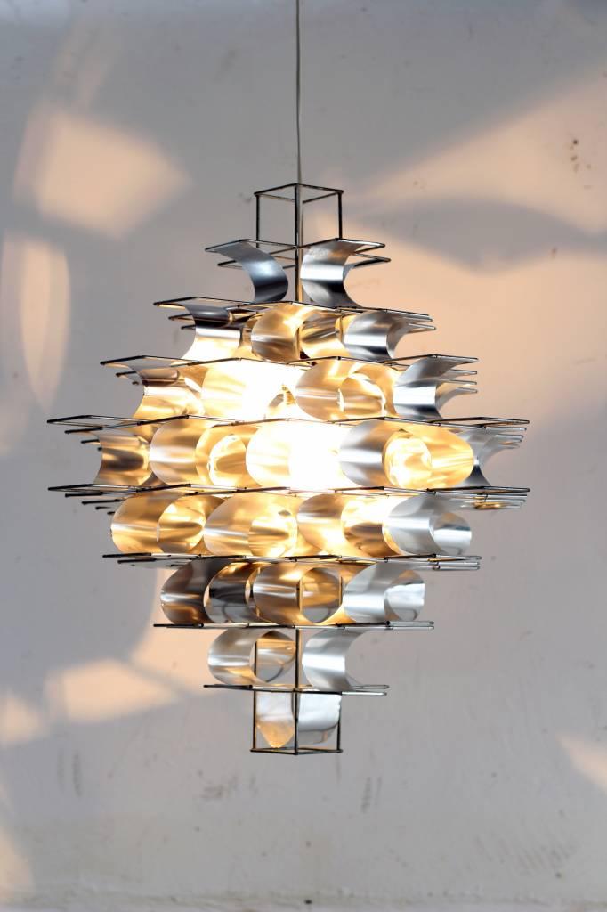 Vintage design Ceiling lamp Max Sauze 1970 Cassiopée
