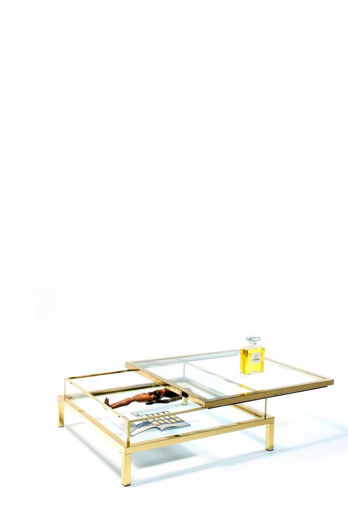 Vintage Maison Jansen sliding salontafel