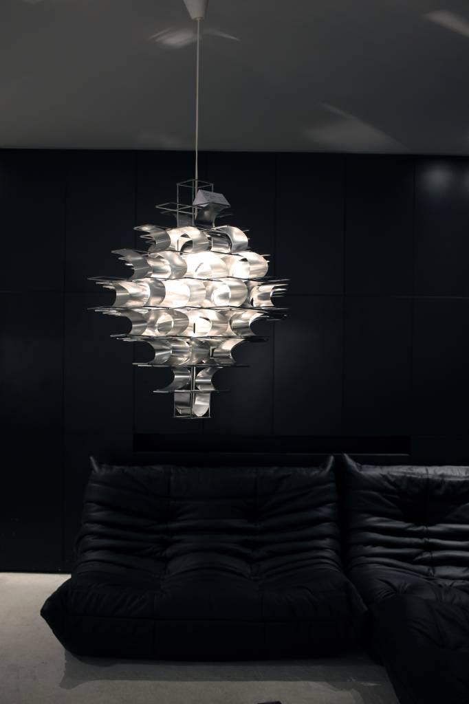 Vintage design Plafond lamp Max Sauze 1970 Cassiopée