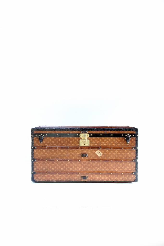 Beautiful vintage Louis Vuitton suitcase circa 1920