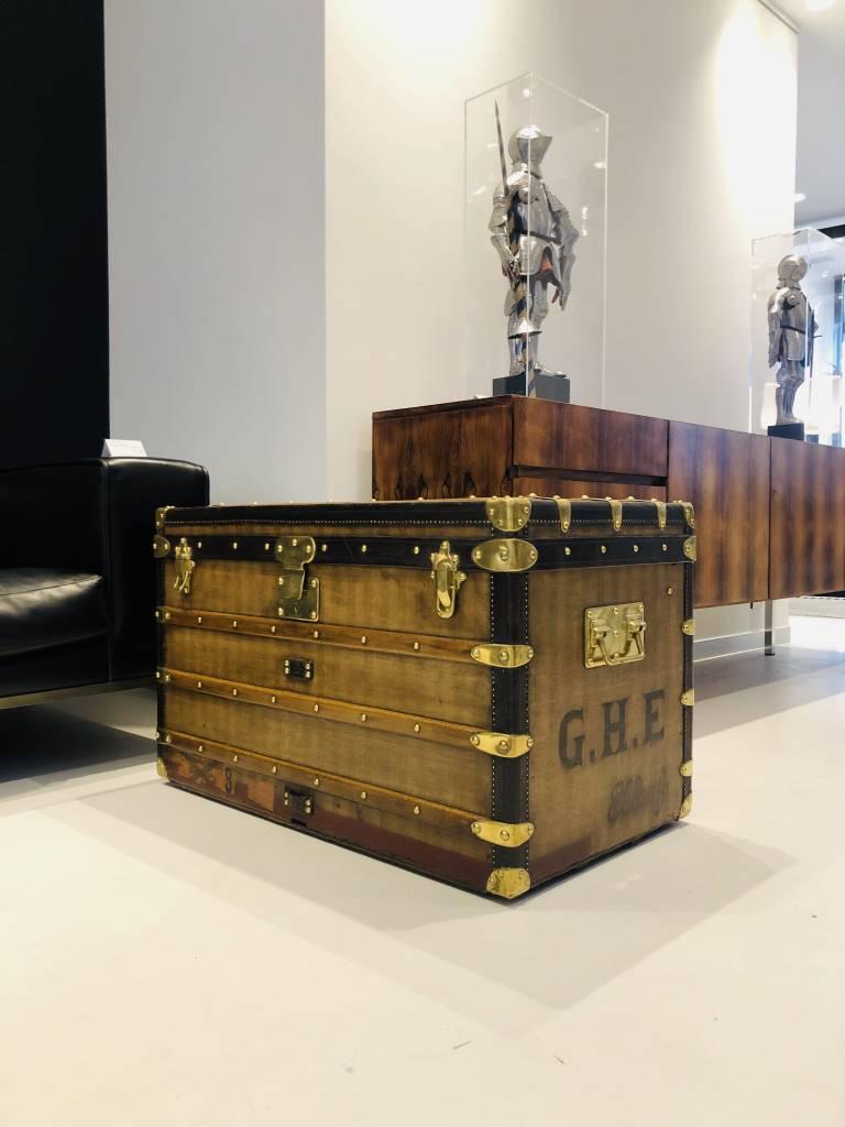 "Louis Vuitton ""rayée"" & Damier canvas geschiedenis"