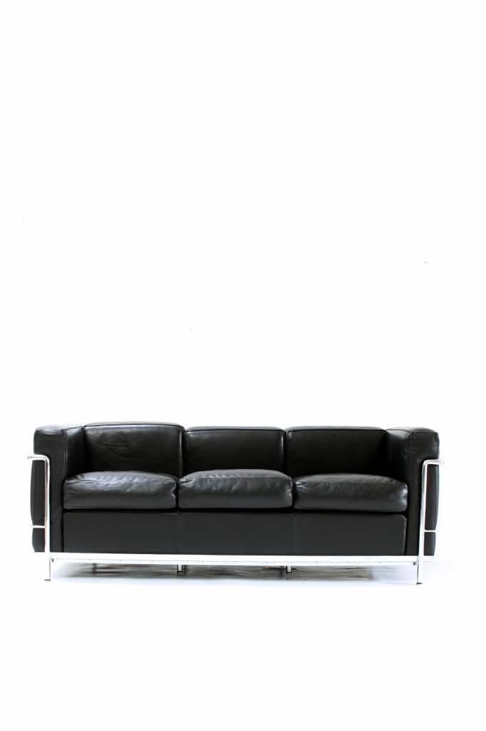 Le Corbusier Lc2 3zit Zwart Wauw