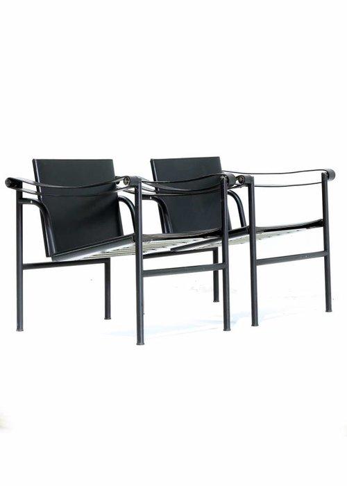 Pair Le Corbusier - LC1 black edition