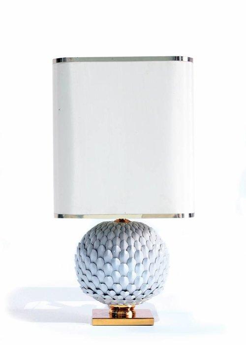 Franse keramische tafellamp