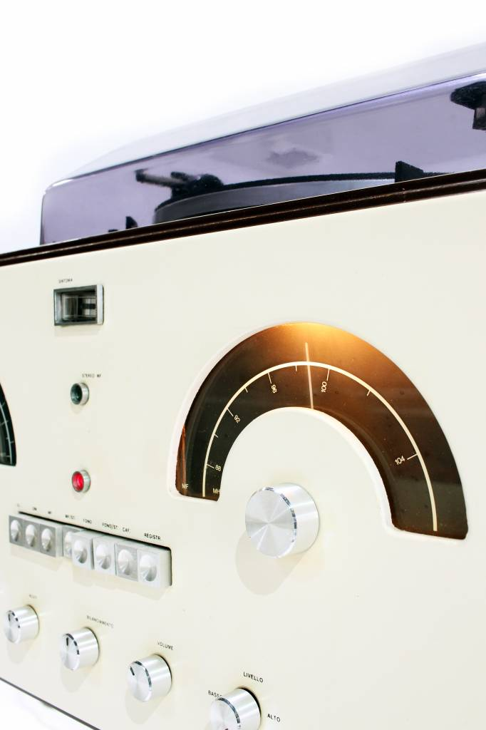 Space Age Brionvega RR126 stereo 1960's