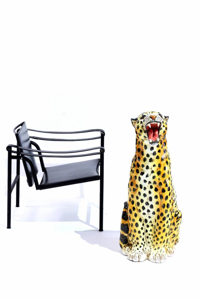 porseleinen luipaard 1960's