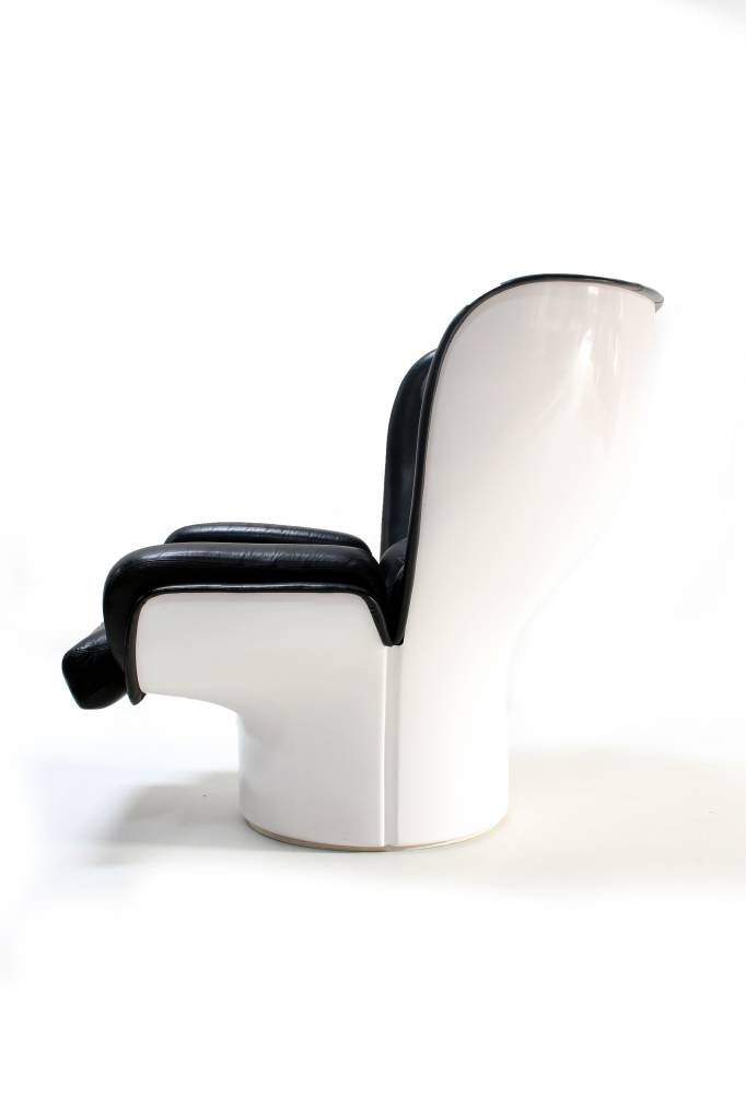 Elda chair door Joe Colombo voor Comfort, 1960's