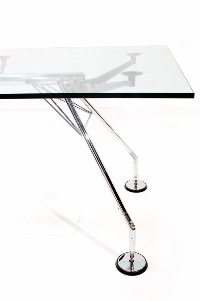 NOMOS TABLE BY NORMAN FOSTER FOR TECNO, 1980S