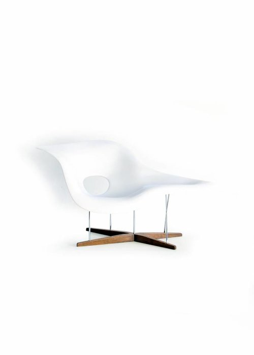 La Chaise by Charles & Ray Eames