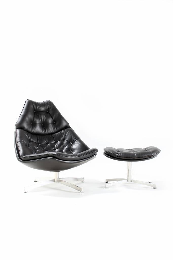 Lounge chair  van Geoffrey D. Harcourt voor Artifort