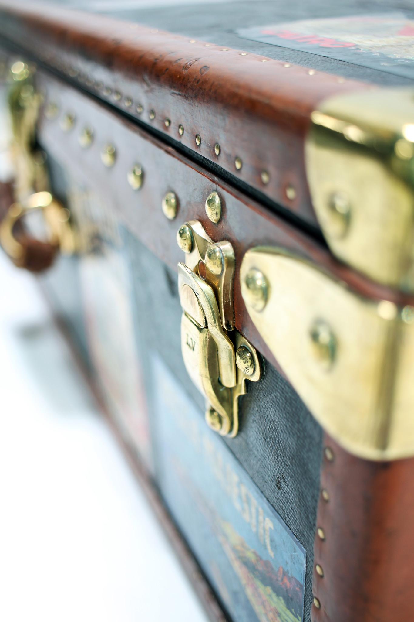 Vintage Louis Vuitton reiskoffer