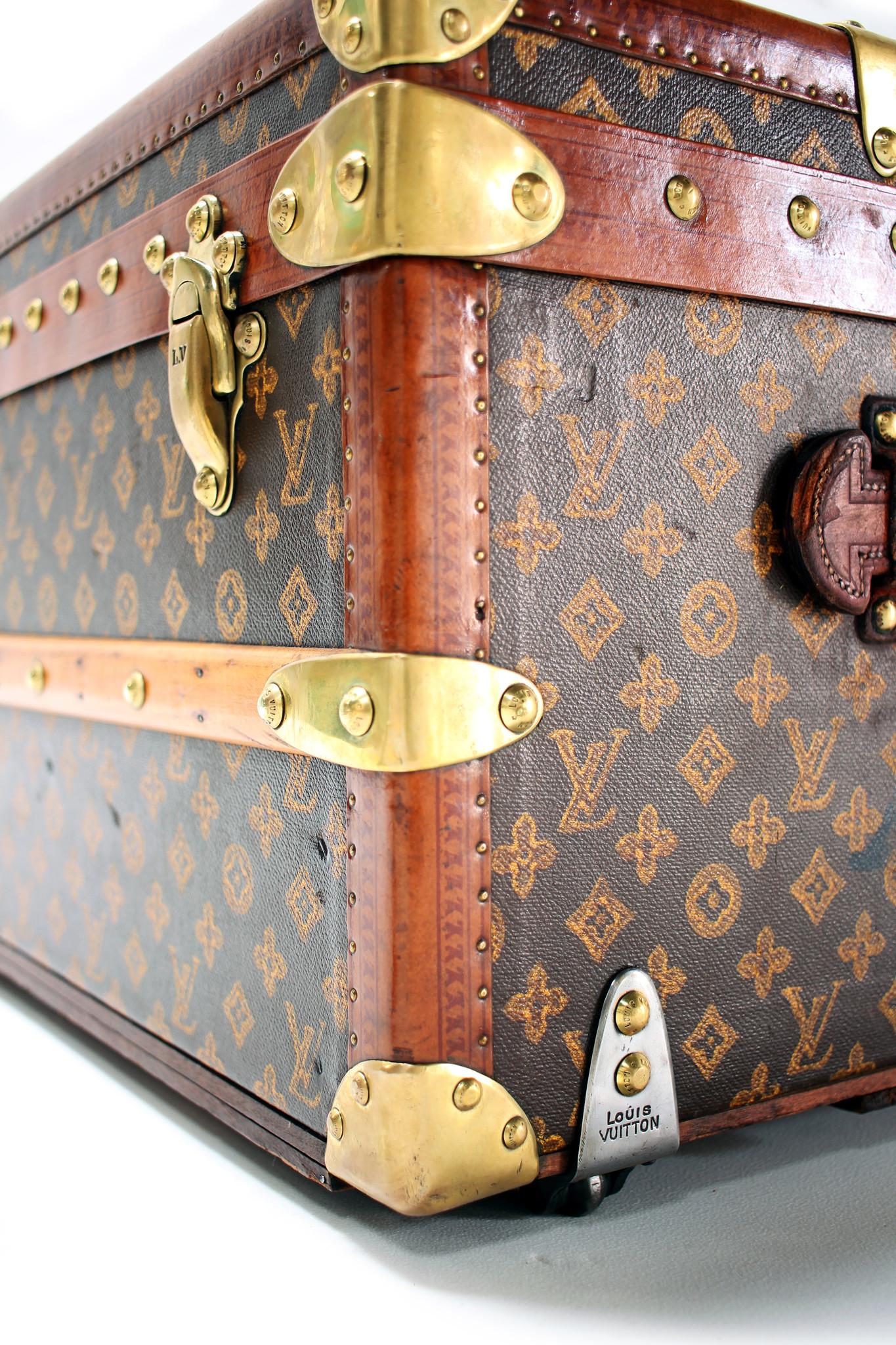 Prachtige Louis Vuitton malle cabine - steamer