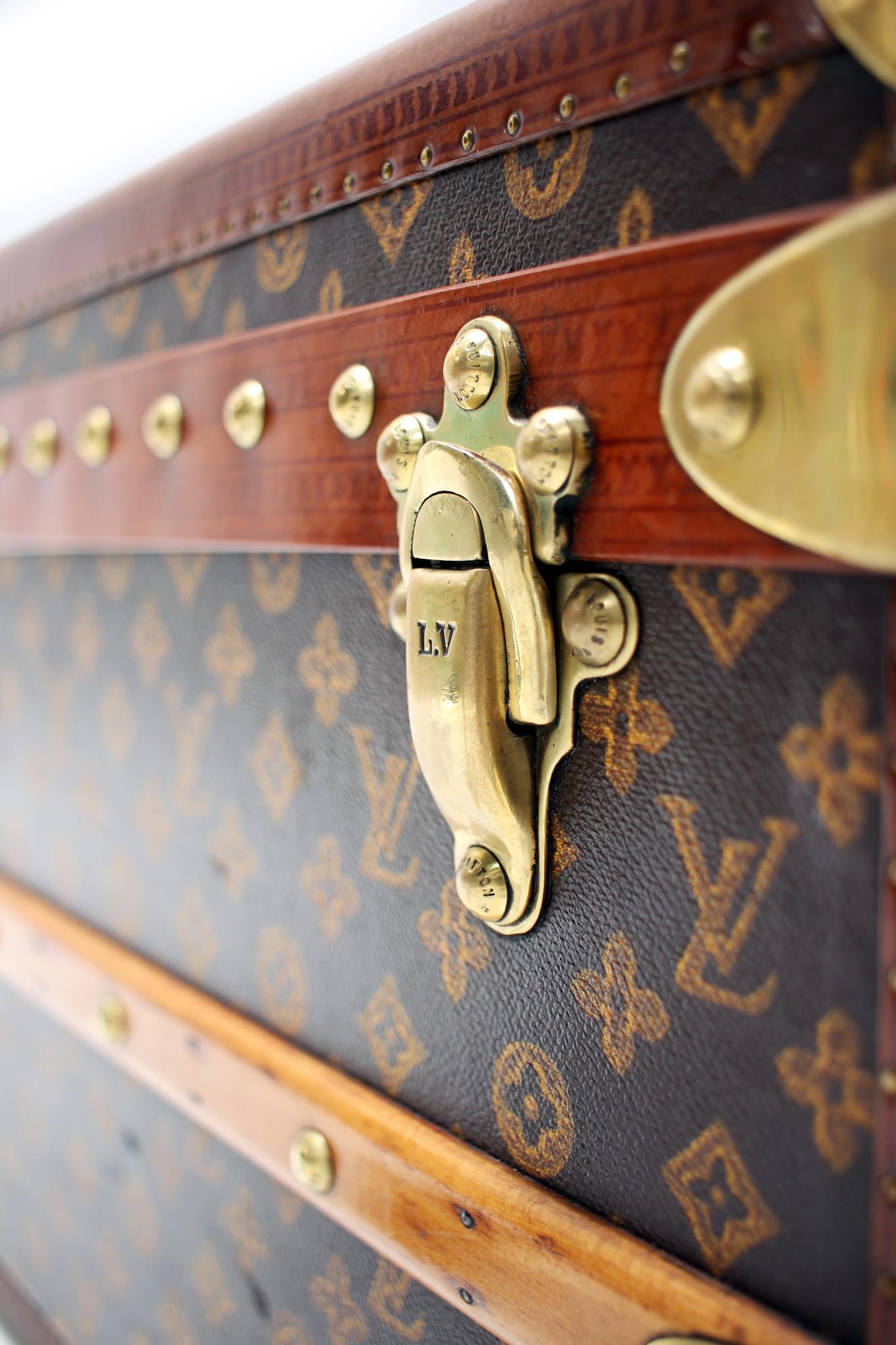 Beautiful Louis Vuitton malle cabin - steamer