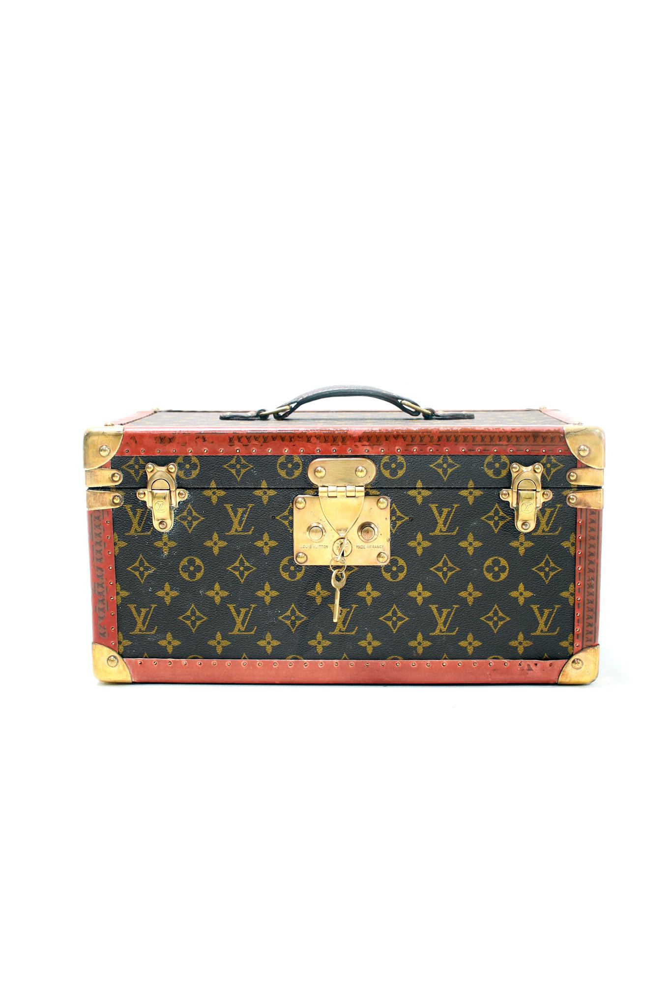 Vintage Louis Vuitton beauty case 1960's