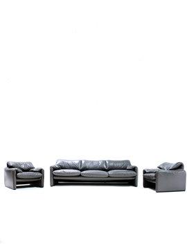 Lederen Maralunga sofa 1974