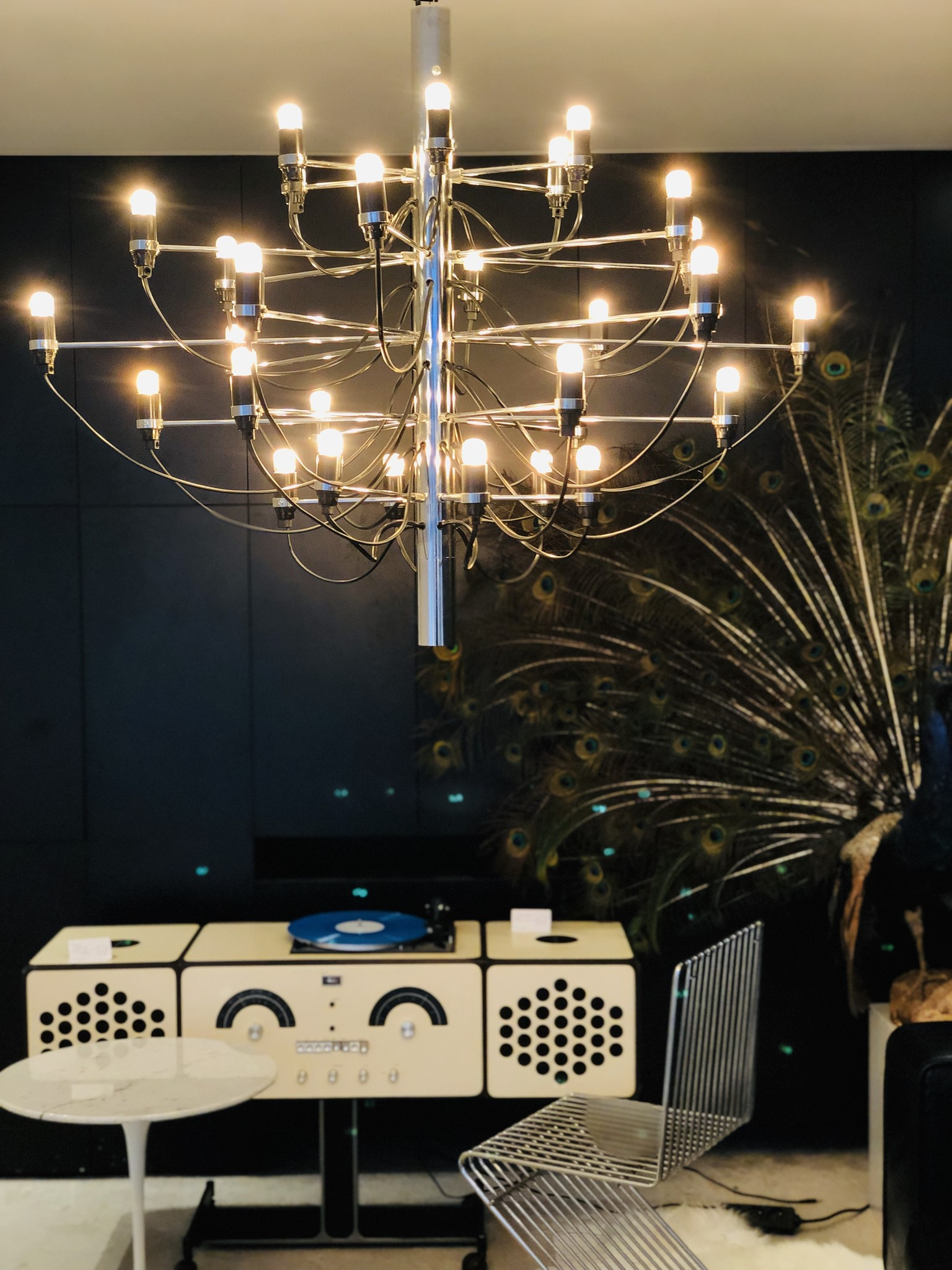 Original Sarfatti chandelier by Gino Sarfatti for Flos