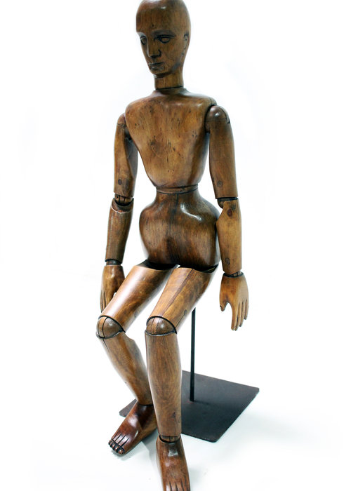Antiek kunstenaarsmodel