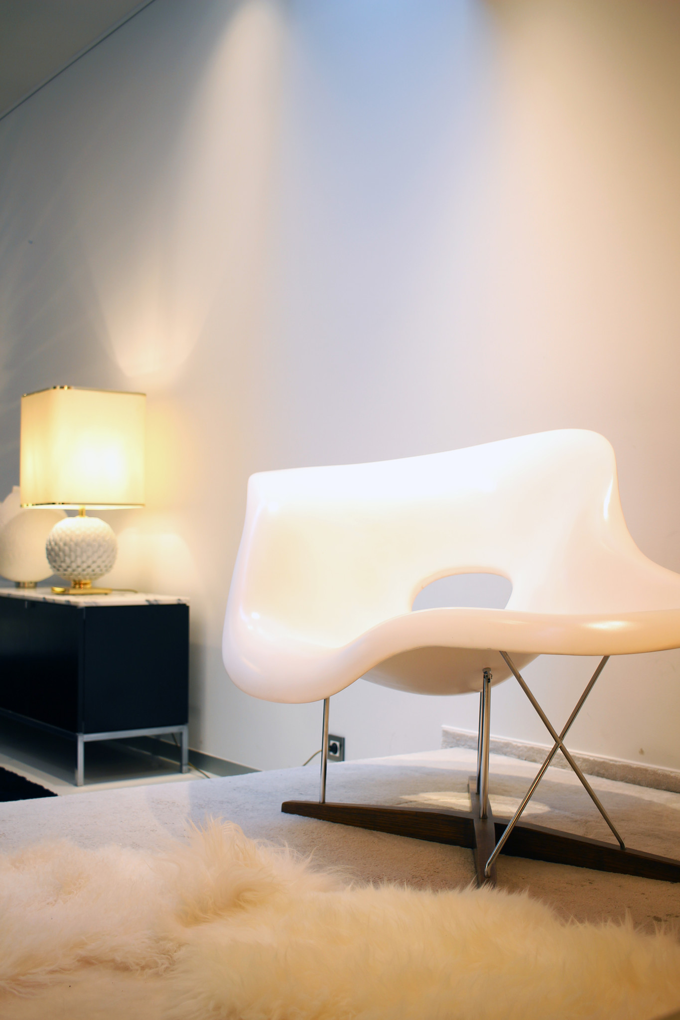 La Chaise by Charles & Ray Eames for Vitra