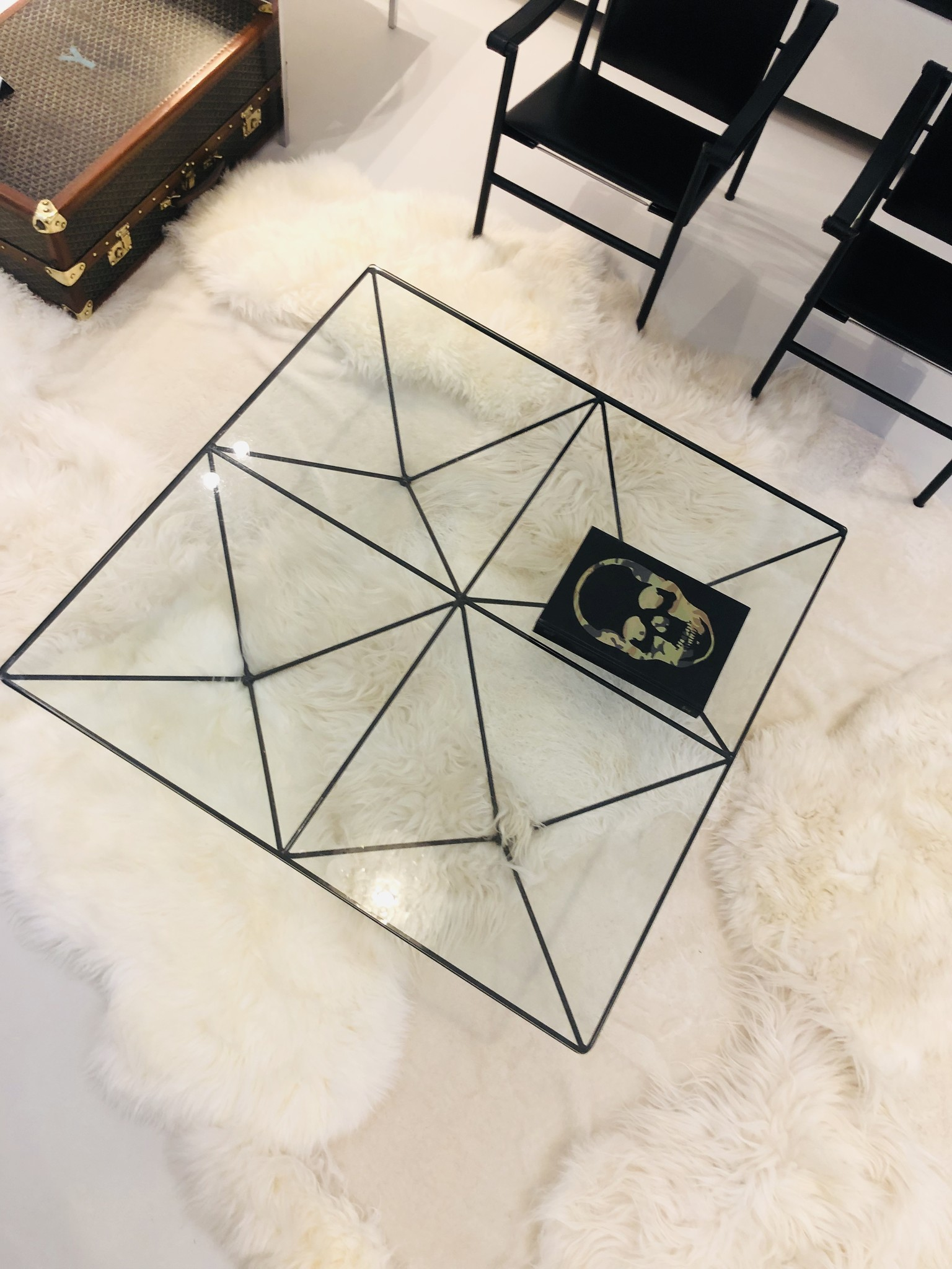 AUTHENTIC vintage B&B Coffee table 1980's