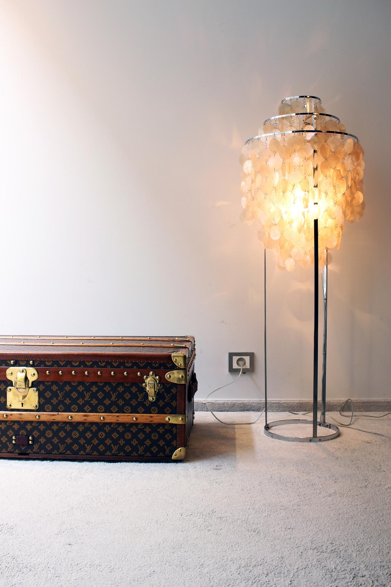 FUN vloerlamp door Verner Panton voor Verpan