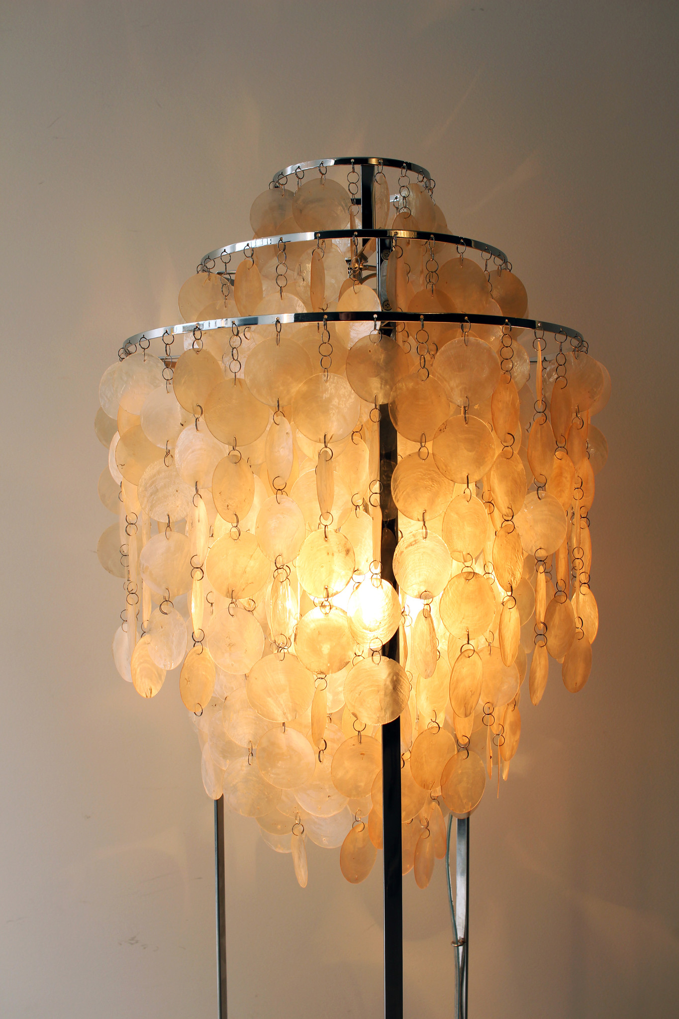 FUN floor lamp by Verner Panton for Verpan