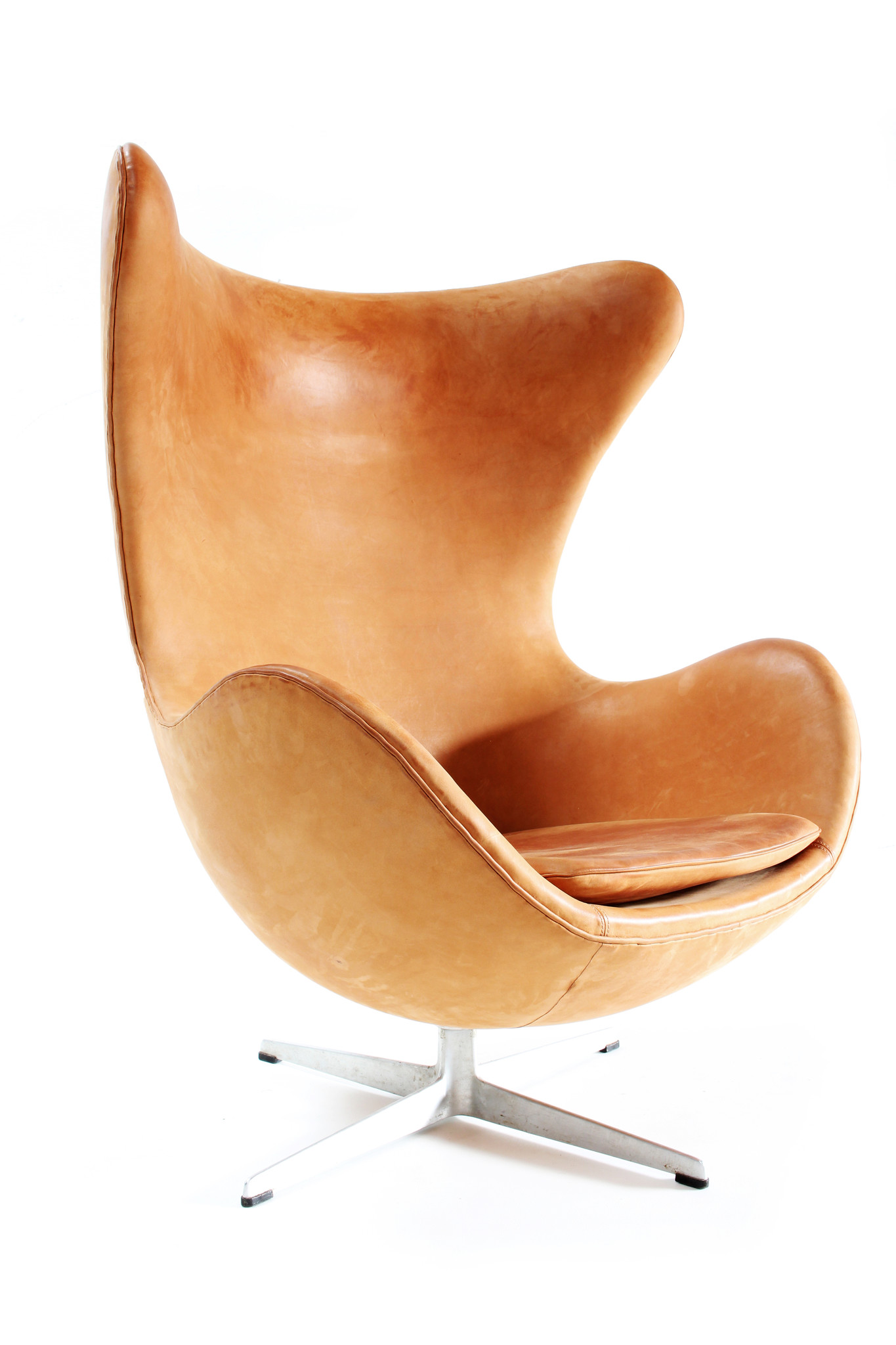 Vintage Egg Chair door Arne Jacobsen voor Fritz Hansen