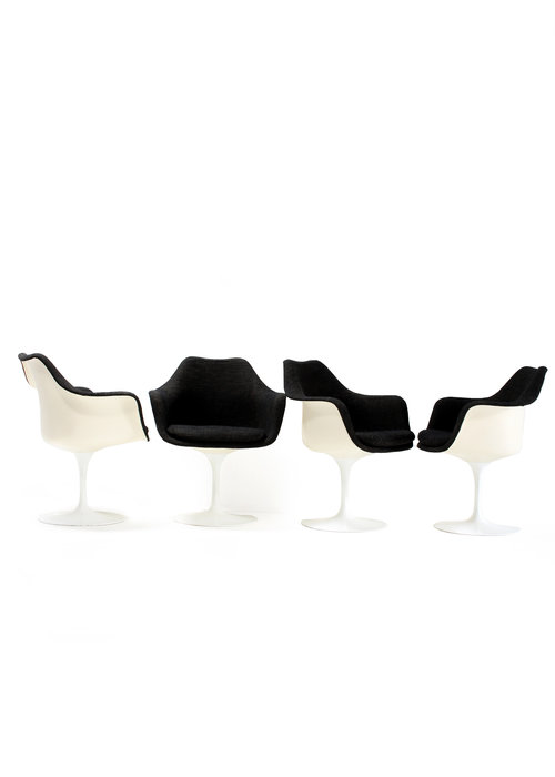 Tulip chairs by Eero Saarinen